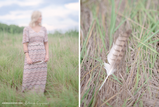 bohemian ohio engagement session