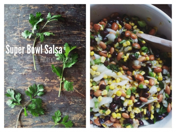 Super Bowl Salsa Easy Recipe by AndreaDozier.com
