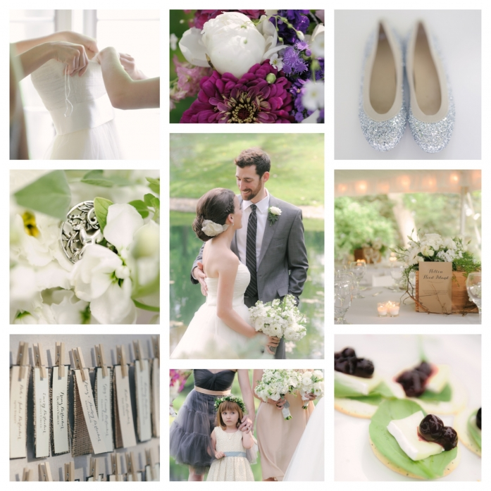 Rustic White Wine Wedding Inspiration by AndreaDozier.com